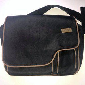 Black Chivas Messenger Bag